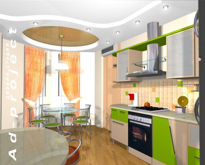 Фото дизайн кухни 7м2